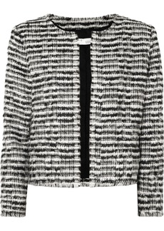 IRO Emotion Cropped Wool-blend Bouclé Jacket