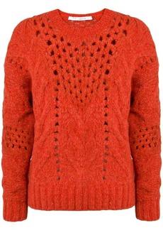 IRO eyelet knit sweater