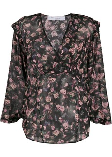 IRO floral print blouse