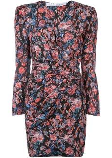 IRO floral print silk dress