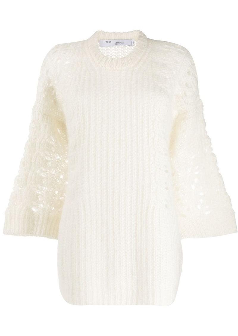 IRO floral sleeves jumper