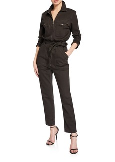 IRO Flories Cotton Utility Jumpsuit