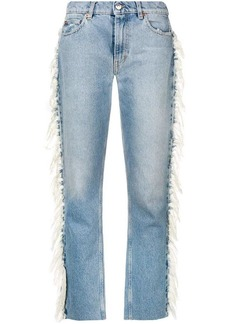 IRO fringed detail jeans