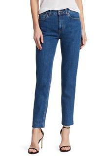 IRO Galant Straight Leg Raw Hem Jeans