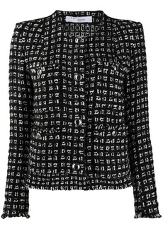 IRO geometric pattern jacket