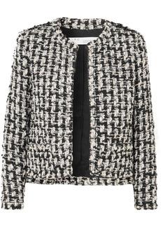 IRO Gonna Faux Pearl-embellished Tweed Jacket