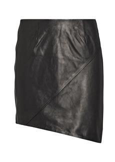IRO Hemy Leather Mini Skirt
