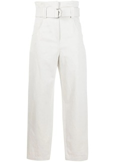 IRO high-waist belted jeans