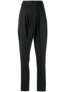 IRO high waisted tapered trousers