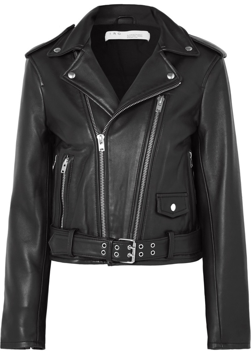 IRO Illusive Leather Biker Jacket