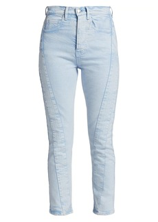 IRO Inhae High-Rise Cropped Jeans