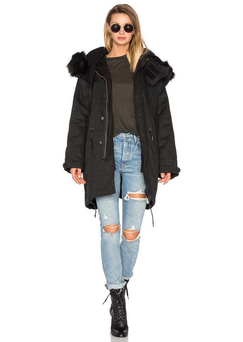 IRO . JEANS Ismery Faux Fur Jacket
