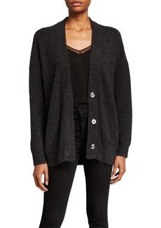 Iro Aelta Wool Snap-Front Sweater