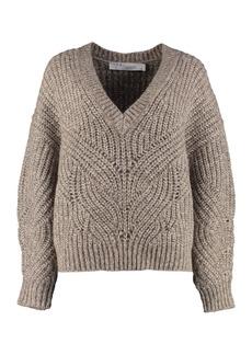 IRO Alpaca Blend Tricot Sweater