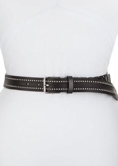 Iro Athena Studded Leather Belt