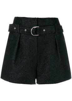 Iro belted short shorts - Black
