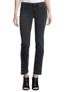IRO Biba Side-Snap Skinny Jeans