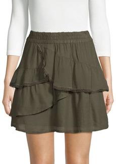 IRO Carmela Ruffled Mini Skirt