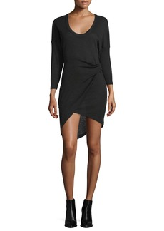 Iro Clarane Gathered Jersey Dress
