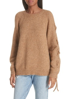 IRO Cold Shoulder Alpaca Blend Sweater