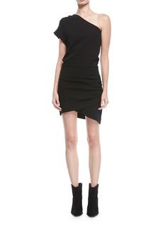 Iro Davov One-Shoulder Short Cocktail Dress
