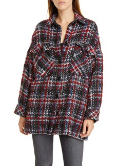 IRO Elmer Plaid Shirt Jacket