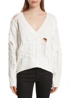 IRO Fighla Distressed Sweater