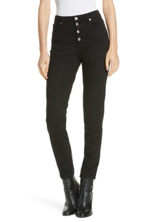 IRO Gaety Exposed Fly Skinny Jeans