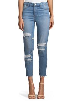 Iro Genn Distressed Cropped Skinny Jeans