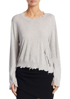 IRO Gnasp Distressed Knit Pullover