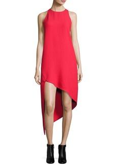 Iro Hamlin Asymmetric High-Low Sleeveless Dress