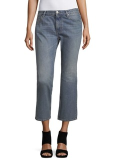 IRO Jeans Cotton Crop Flare Jeans