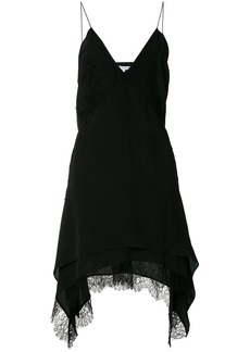Iro lace trim dress - Black