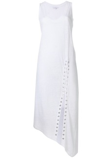 Iro lace-up detail dress - White