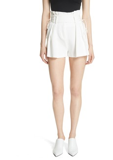 IRO Lalora High Waist Lace-Up Shorts