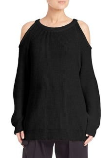 IRO Lineisy Cold-Shoulder Sweater
