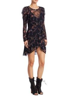 IRO Loxie Floral-Print Dress