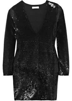 IRO Nobila Sequined Stretch-crepe Mini Dress