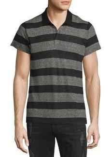Iro Oscar Striped Short-Sleeve Polo Shirt
