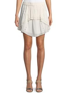 IRO Pabey A-Line Short Skirt