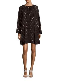 IRO Paula Printed Shirt Dress