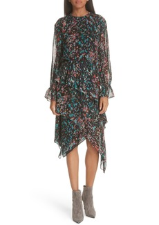 IRO Print Asymmetrical Dress