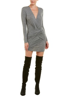 Iro Quantu Wool-Blend Mini Dress