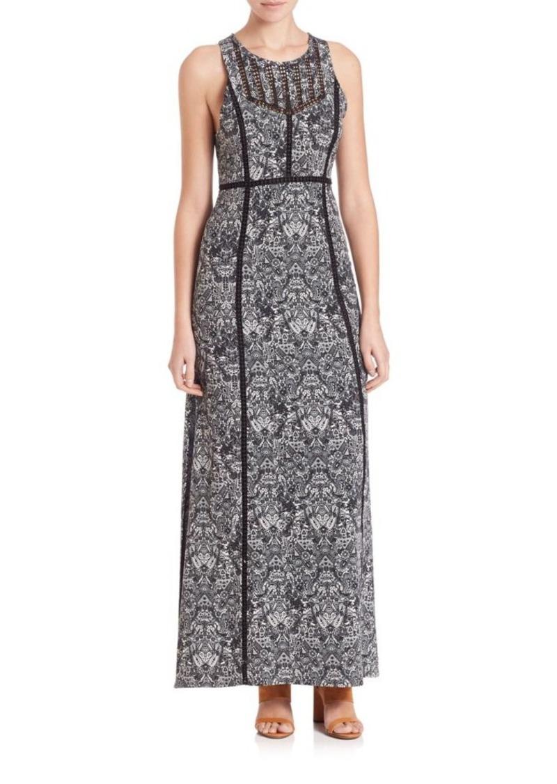 IRO Ridge Printed Maxi Dress