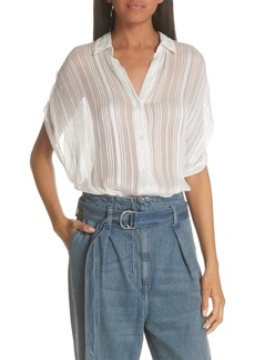 IRO Ruts Sheer Stripe Blouse