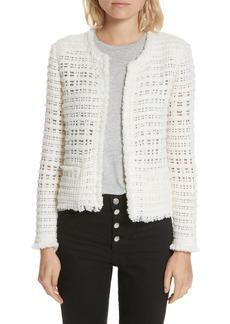 IRO Startle Crochet Jacket