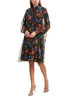 Iro Twist Silk Shift Dress