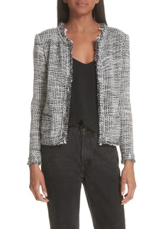 IRO Unplug Metallic Tweed Jacket