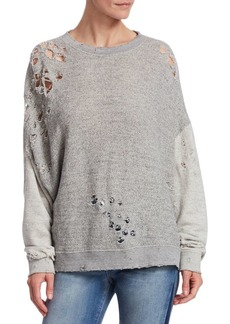 IRO Utropy Distressed Sweatshirt