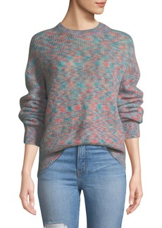 Iro Version Mohair-Blend Crewneck Pullover Sweater